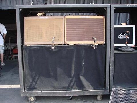 Keef's amp rig