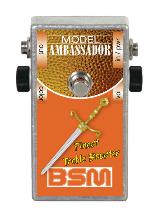 Booster Image: Ambassador Mid-Voiced Treble Booster