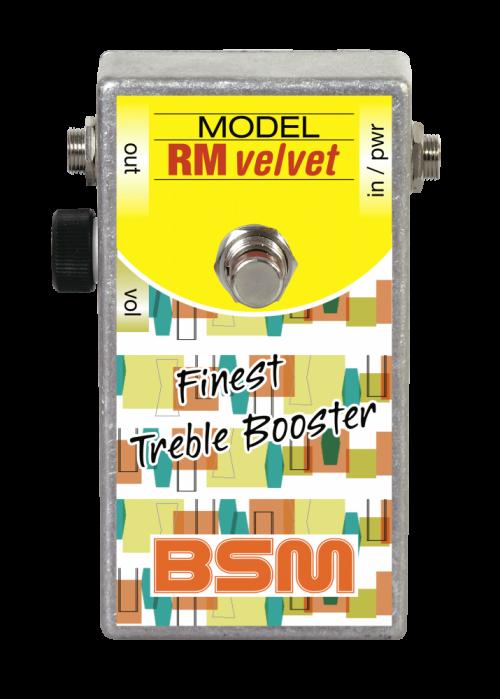 Booster Image: RM Velvet Treble-Booster