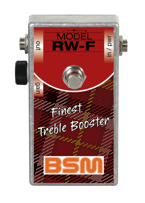 Booster Image: RW-F Treble Booster